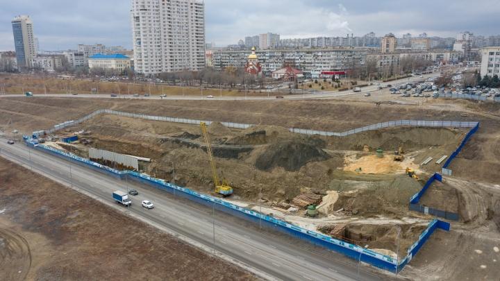 В центре Волгограда достраивают еще два очистных сооружения для дождевых стоков