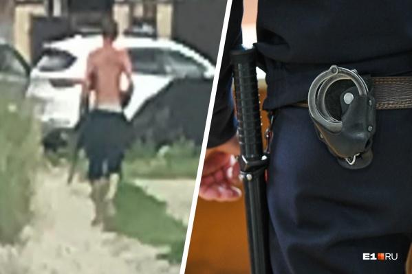 В Березовском задержали мужчину, открывшего стрельбу из автомата