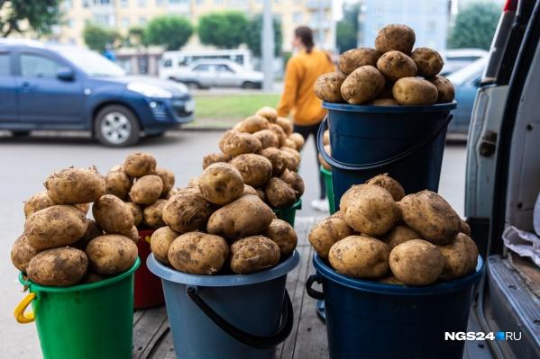 Из молодой картошечки можно приготовить не только жареху