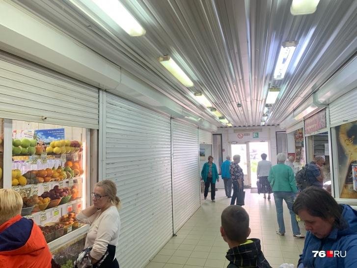 Магазины съезжают из «Аквилона»