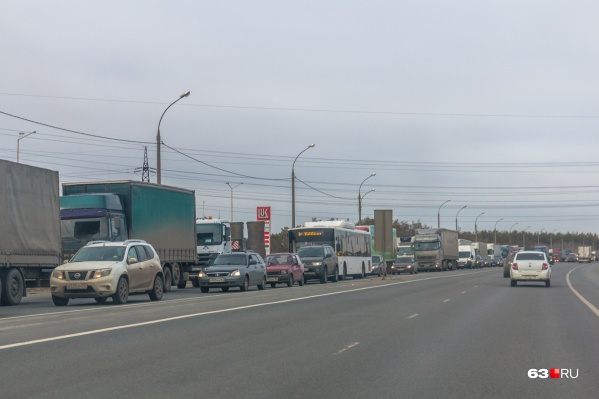 Трасса выводит поток транзитного транспорта за пределы города