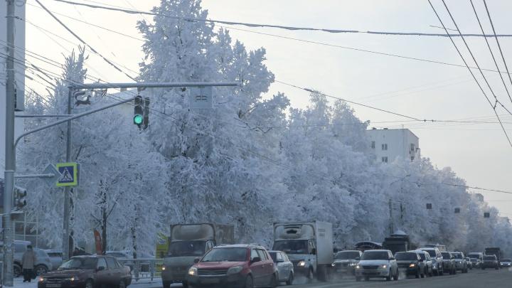 В Башкирии резко похолодает до -28градусов