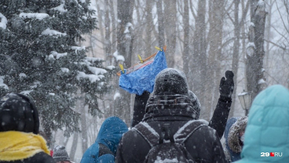 «Трусы Навального» засветились даже в Северодвинске