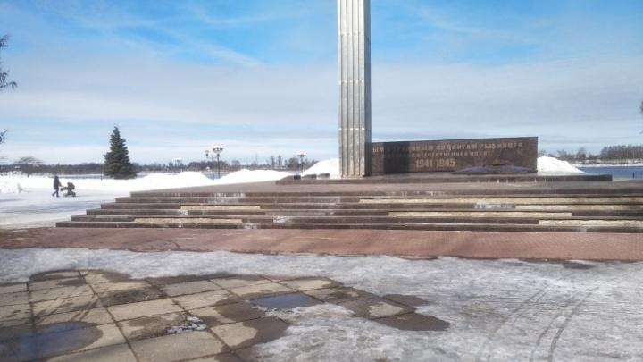 В Рыбинске капитально отремонтируют Вечный огонь, который разваливается после прошлого капремонта