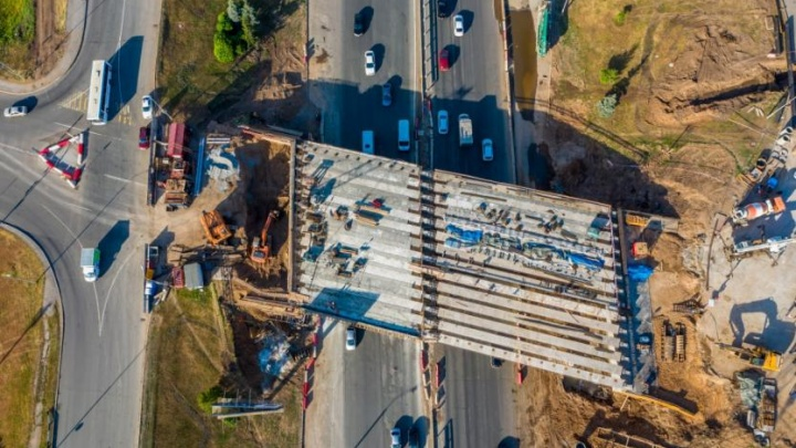 Задействованы 85 строителей: самое важное о реконструкции развязки Валиди — Юлаева в Уфе