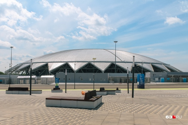 На стадион «Солидарность Арена» пускали только избранных