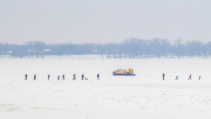 Синоптики рассказали, когда вскроется лед на Волге в Самарской области