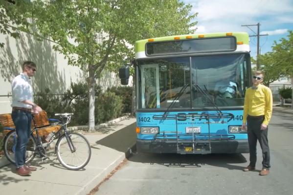 Как можно перевозить велосипеды в общественном транспорте