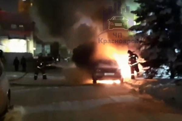 Пожар на Водопьянова