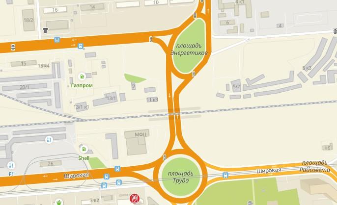 Когда тоннель достроят, пропускная способность в районе площади Труда увеличится — он будет вести от улицы Широкой до площади Энергетиков