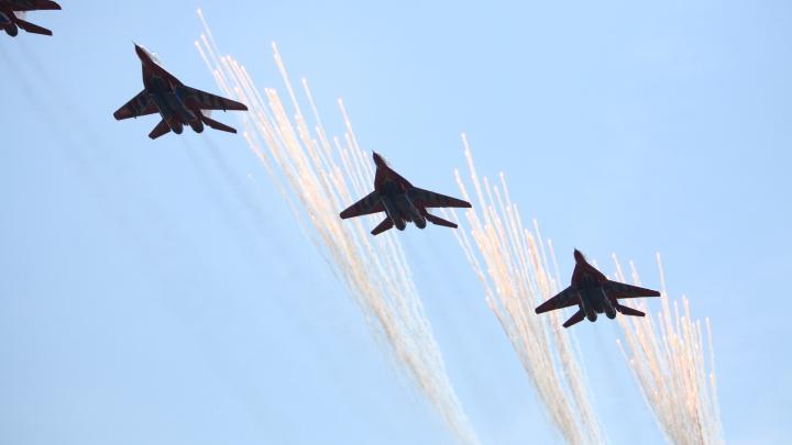 Власти рассказали, во сколько состоится авиашоу на 300-летие Кузбасса