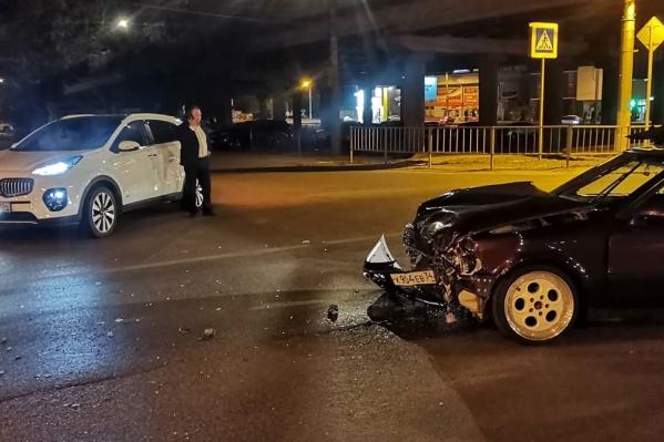 Авария произошла вечером 18 сентября