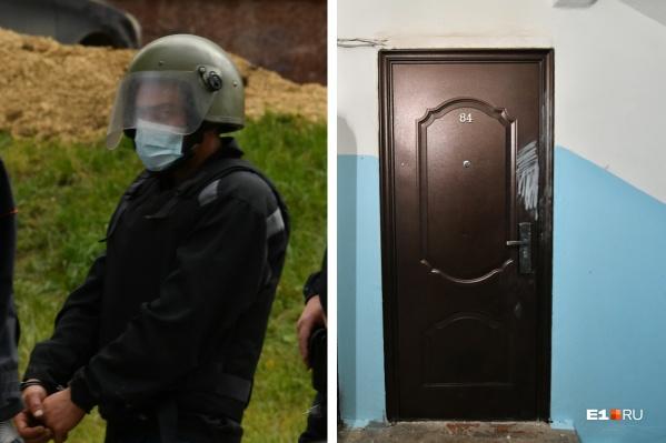 После убийства женщины и двух ее детей Виталий Насртдинов поджег их квартиру