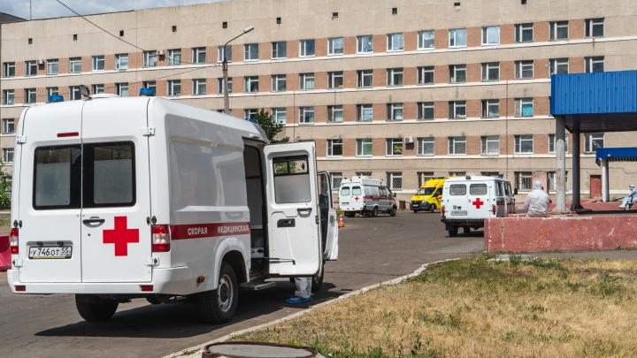 Омскую МСЧ-4 вновь отдадут под ковидный госпиталь