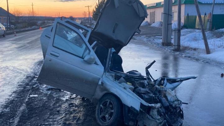 На Урале автобус с 26 детьми попал в аварию. В полиции рассказали подробности ДТП