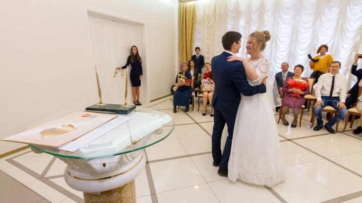 Число гостей на церемониях бракосочетания в загсах Югры увеличится