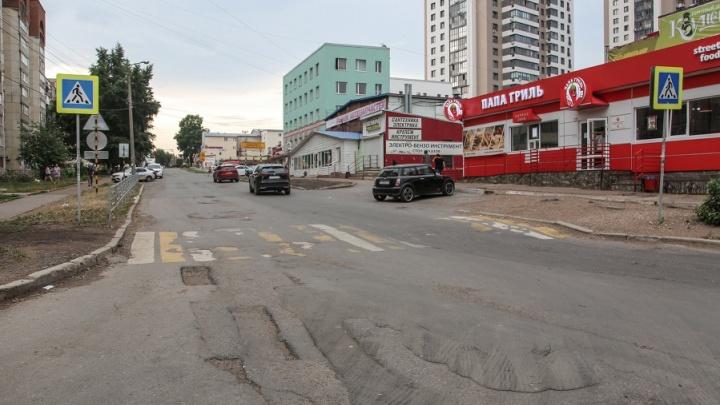 В Уфе по бульвару Хадии Давлетшиной открыли технический проезд