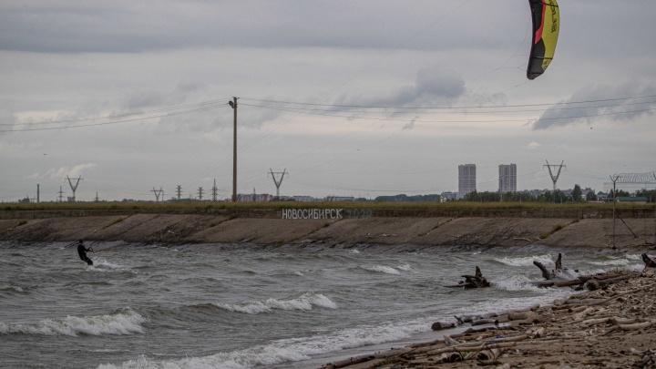Поднять паруса: 15 эффектных фото, что сейчас творит ветер на Обском море