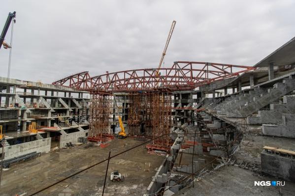 Арену для МЧМ-2023 планируют достроить в следующем году