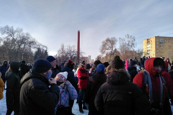 Топла собралась на Красной площади