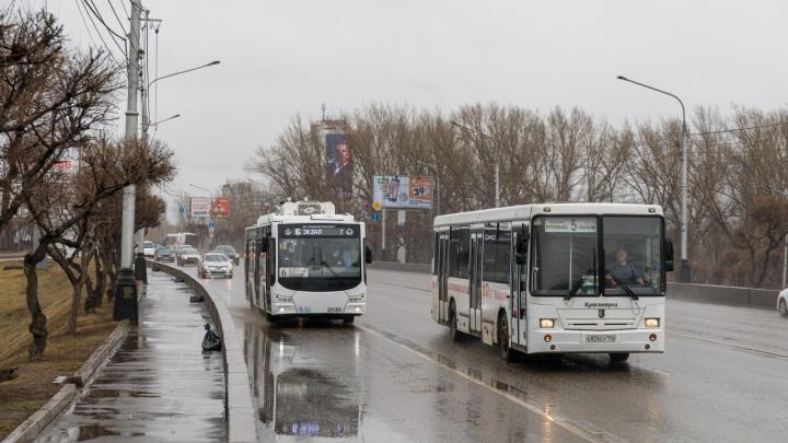Парк электротранспорта обновят на 70% и повысят зарплату красноярских водителей