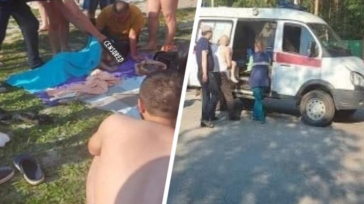 На базе отдыха под Екатеринбургом едва не утонул ребенок. Его чудом успели откачать