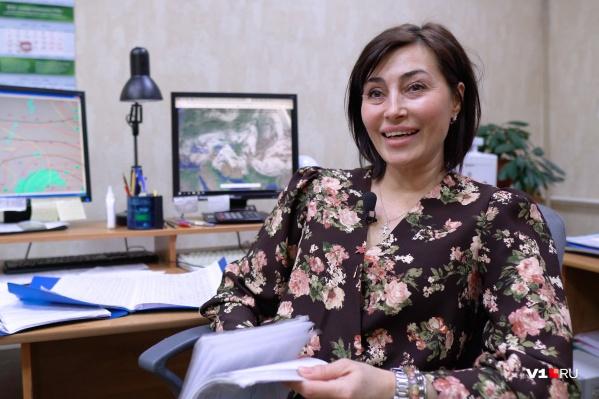 Ольга Ефименко — один из инженеров-метеорологов Волгоградского ЦГМС