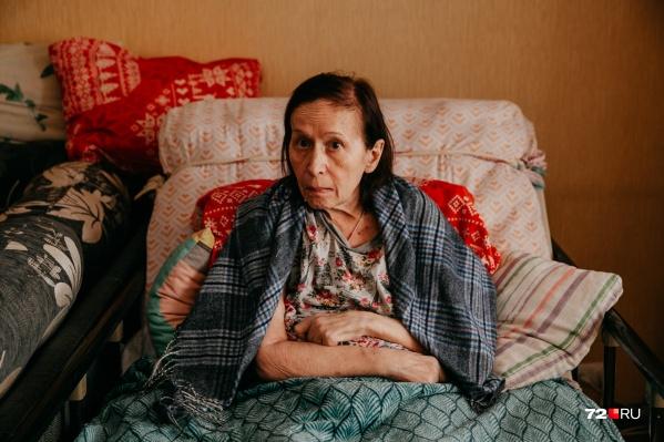 Людмиле Знаменщиковой 66 лет, и последние два года она болеет БАС