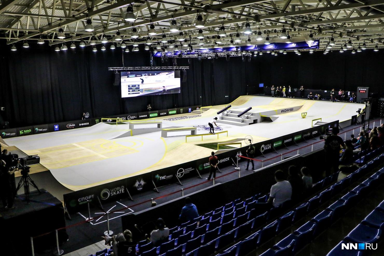 Скейт-парк вновь откроют в Нижнем Новгороде к 800-летию города
