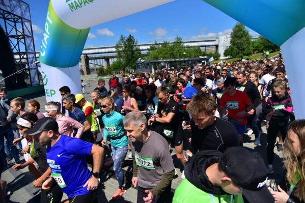 Зеленый марафон состоялся в 180 городах России в онлайн- и офлайн-формате