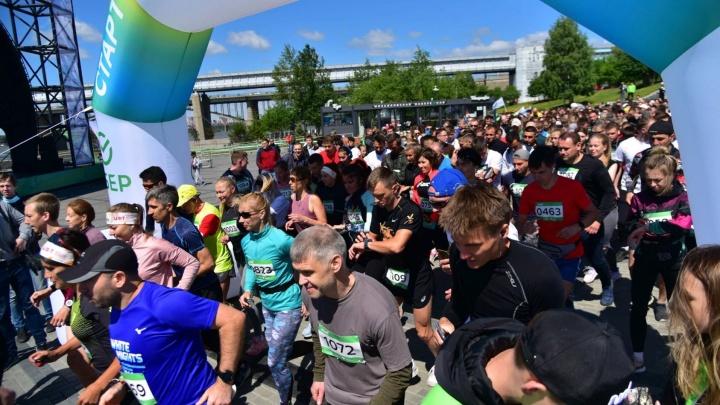 Три тысячи новосибирцев пробежали Зеленый марафон Сбера