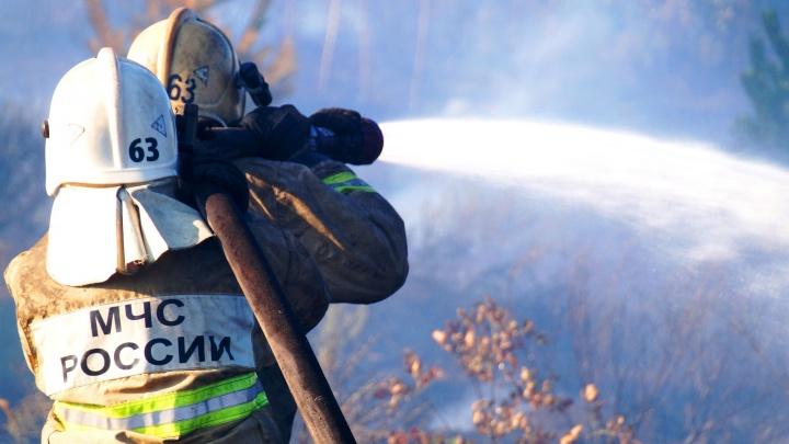 На пепелище крупного пожара в Тольятти нашли вещественные доказательства поджога