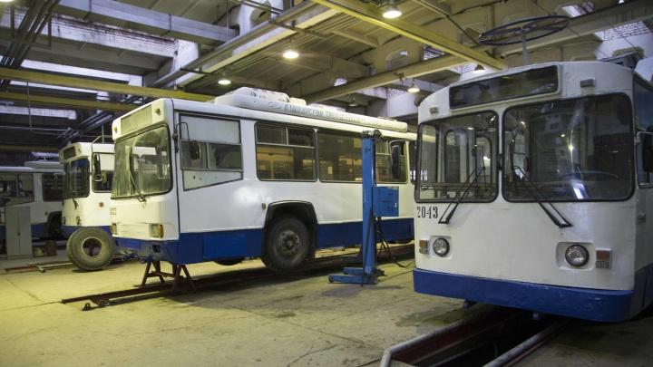 В Уфе 10 трамваев и 11 троллейбусов выставили на торги