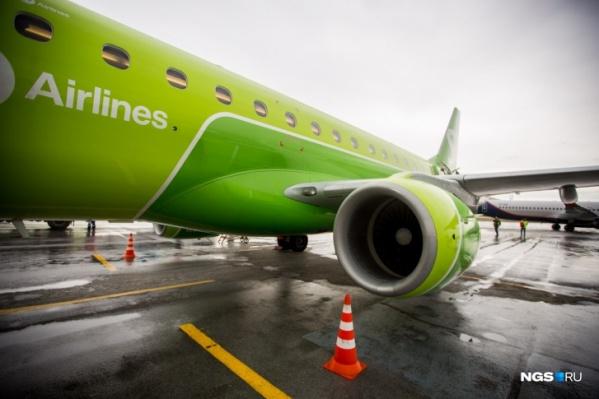 Несмотря на неисправность, самолет благополучно приземлился в Тюмени