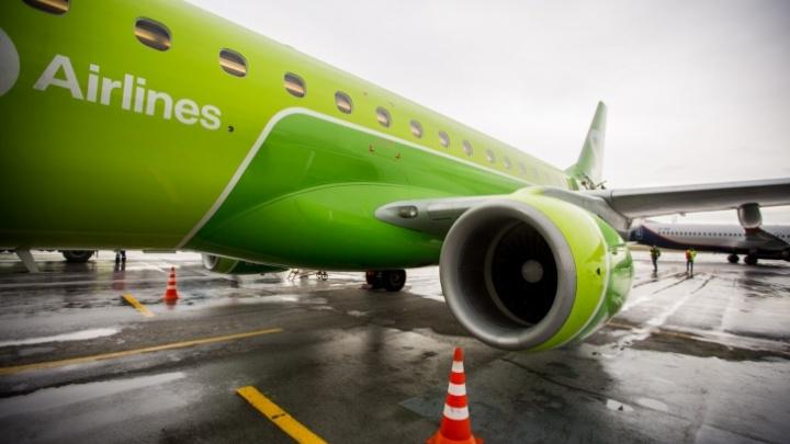 У самолета, вылетевшего из Москвы в Новосибирск, отказал двигатель