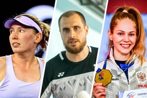 Теннисистка Екатерина Александрова, бадминтонист Владимир Иванов и тхэквондистка Татьяна Минина сразятся за медали на Олимпиаде