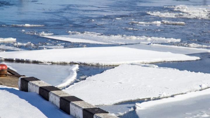 В ХМАО начался первый ледоход — на реке Конда. Узнали, где находятся головы ледоходов Оби и Иртыша
