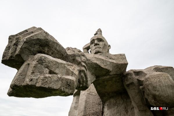 В Змиёвской балке находится крупнейшее в России место захоронения жертв холокоста