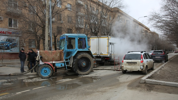 Центр Волгограда отключили от горячей воды: прорыв на магистрали «Концессий теплоснабжения»