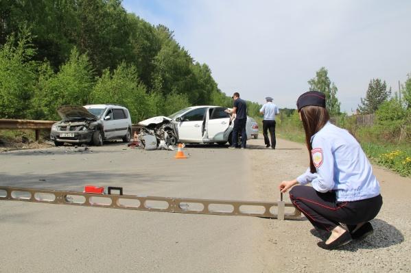 В Свердловской области рекордно выросло число ДТП с участием детей