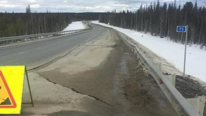 Почему построенная «Автобаном» депутата из ХМАО за 4,8 млрд дорога разрушилась, проверяет прокуратура