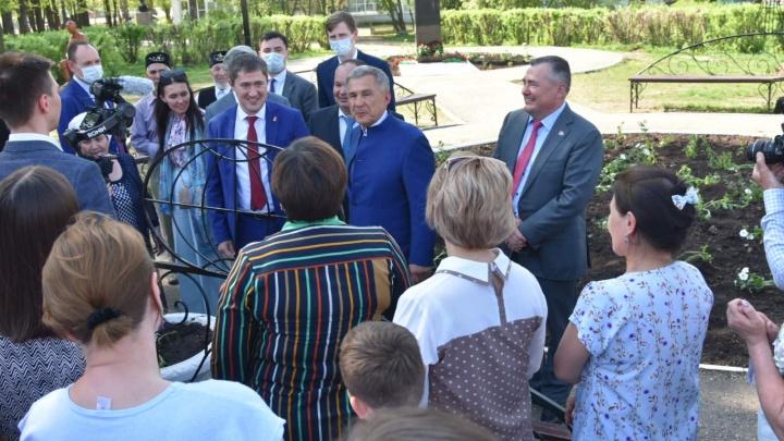 Пермский край подписал соглашение о сотрудничестве с Татарстаном