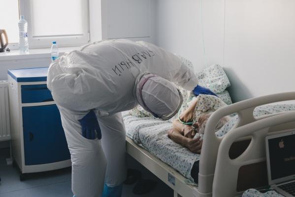 Продолжают лечение больше 1300 заболевших кузбассовцев