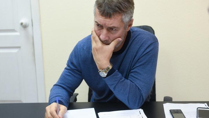 Уральца обвинили в организации акции протеста после репоста твита Ройзмана