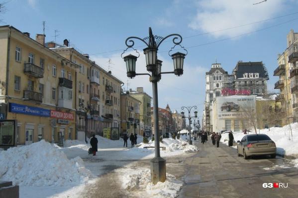Столица губернии славится историческим центром, что привлекательно для туристов