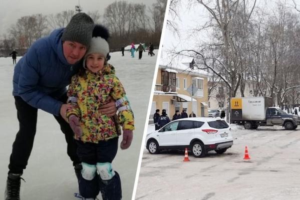 Молодой отец и его дочка стали жертвами упавшего знака и запоздалой реакции спецслужб