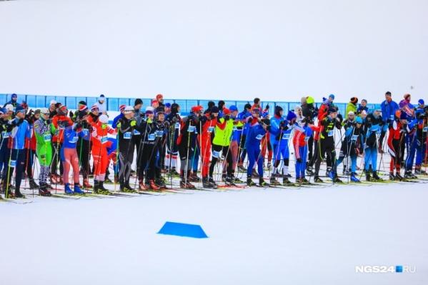 """Двое лучших лыжников получат по&nbsp;<nobr class=""""_"""">5000 тысяч</nobr> рублей"""