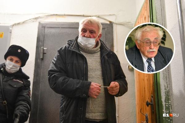 Мы поговорили с 95-летнимученым Георгием Гермаидзе (справа), которого собственный сын запер в квартире