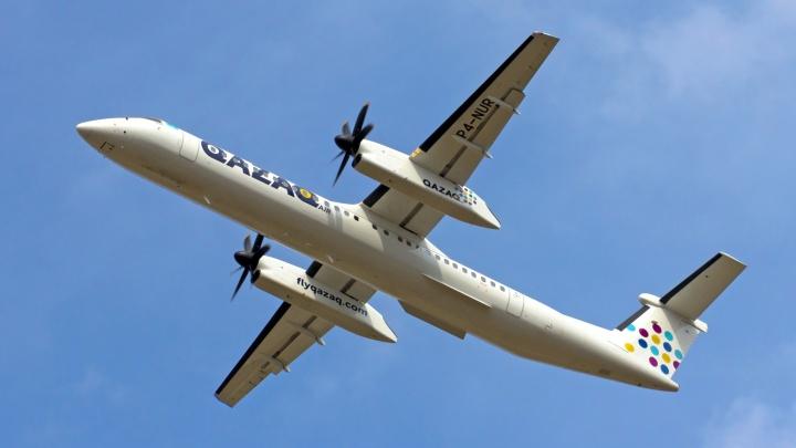 Перед 1 сентября казахстанская авиакомпания запустит два чартерных рейса в Омск