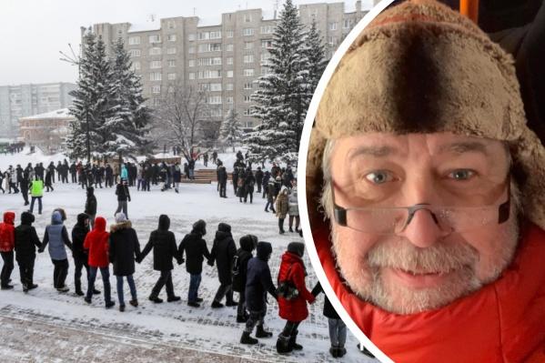 Владимир заявил, что не выйти на митинг ему не позволила совесть
